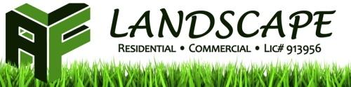 AF Landscape logo