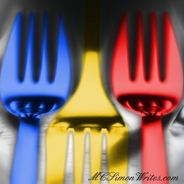 Colored forks