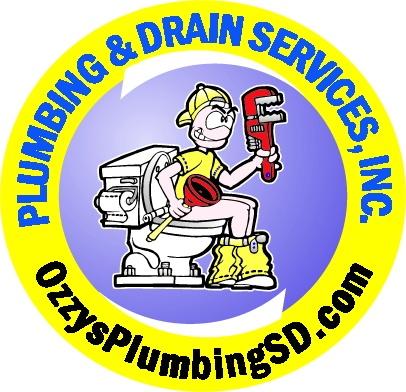 Ozzys Plumbing SD logo
