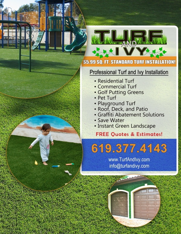 Turf and Ivy flyer