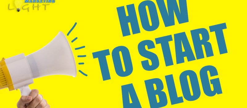 3 Steps To Start A Blog From Scratch